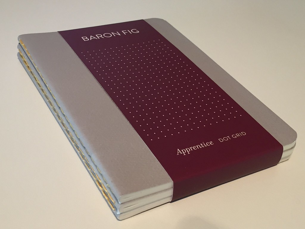 BARON FIG apprentice notebook