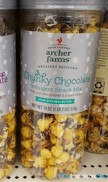 Archer Farm Holiday Edition Chunky Chocolate Indulgent Snack Mix