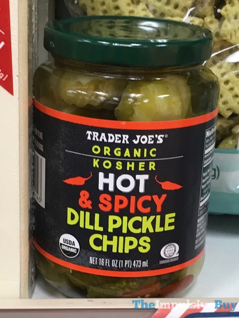 Trader Joe's Hot & Spicy Dill Pickle Chips
