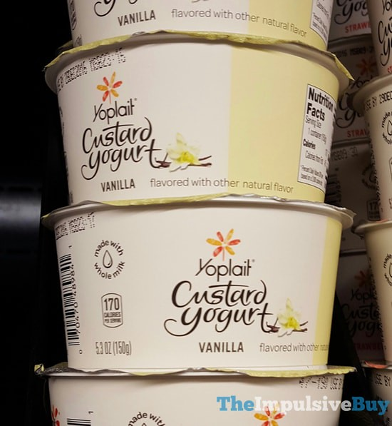 Yoplait Vanilla Custard Yogurt