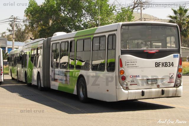 Transantiago - Subus Chile - Marcopolo Gran Viale / Volvo (BFKB34)