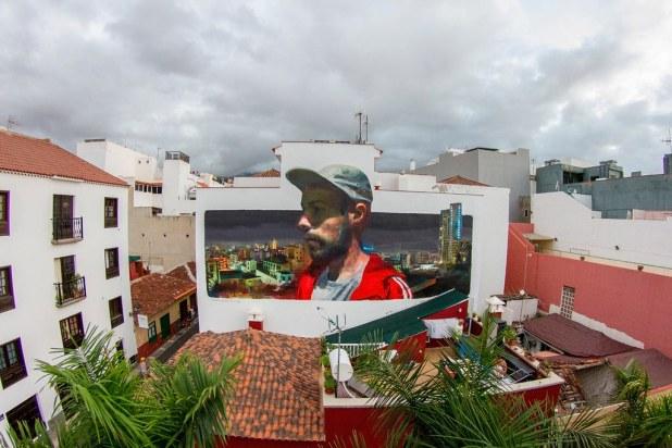 Puerto Street Art en Tenerife