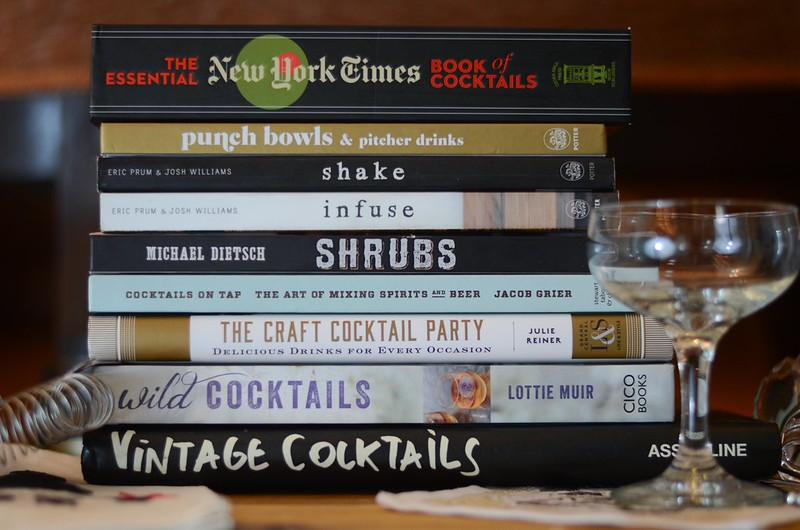 My Favorite Cocktail Books