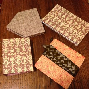 Book binding projects