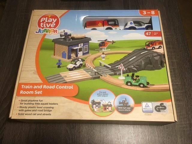 houten speelgoed treinbaan peuter lidl sinterklaas kerst
