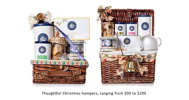 1872 Clipper Tea Christmas Hampers