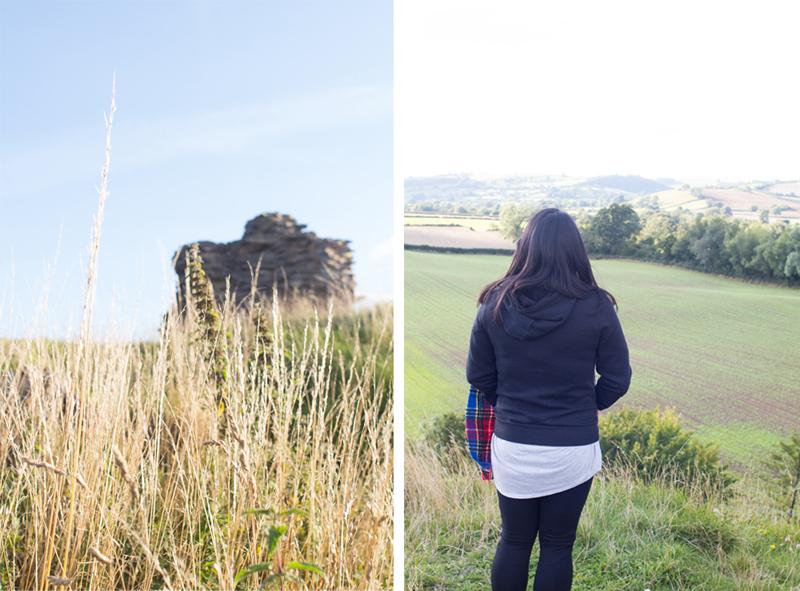 8 Clun castle view winnie