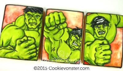 Its the Hulk. POW!