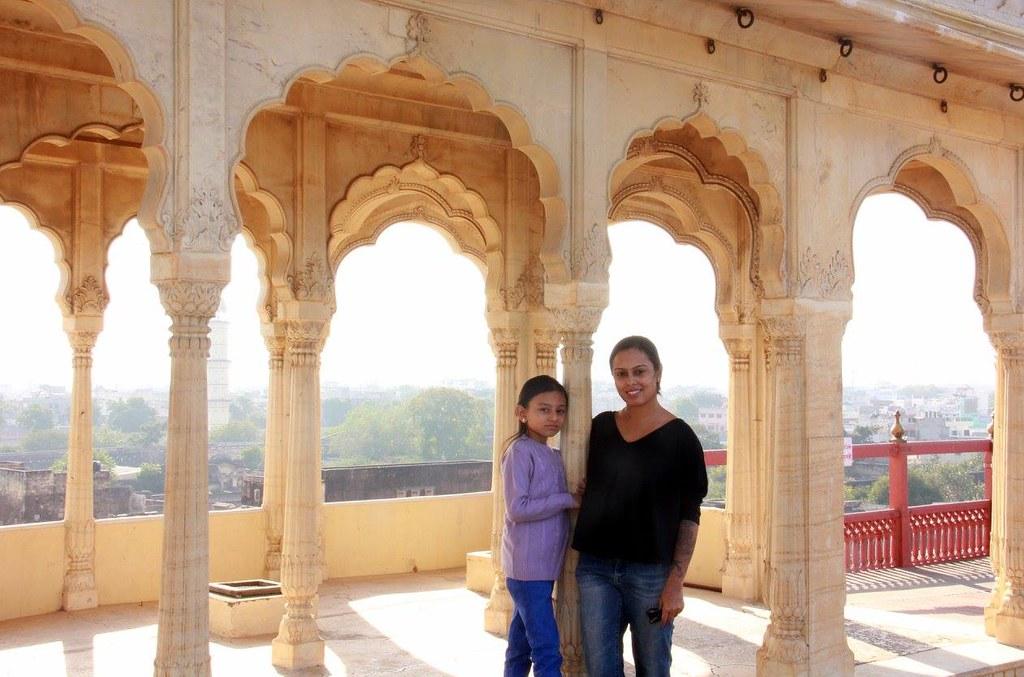 mukut mandir at city palace jaipur