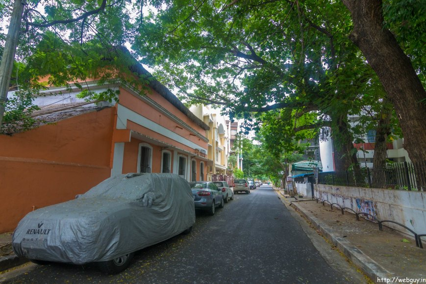 Colorful French Quarters - Pondicherry