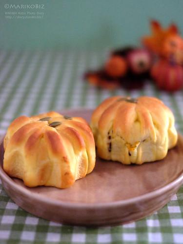 かぼちゃパン 20151025-DSCF2955