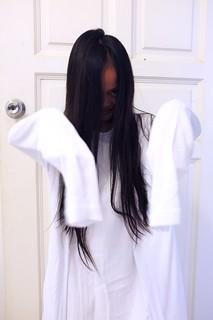 the making of Sadako costume