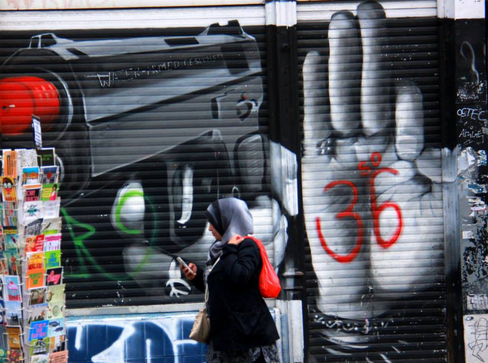 Kreuzberg area has some of the best Berlin street art