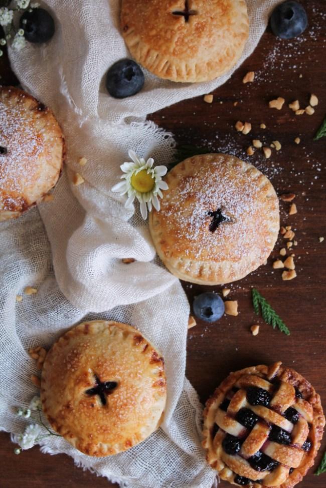 Mini tartas de arándanos, The art of cupcakes