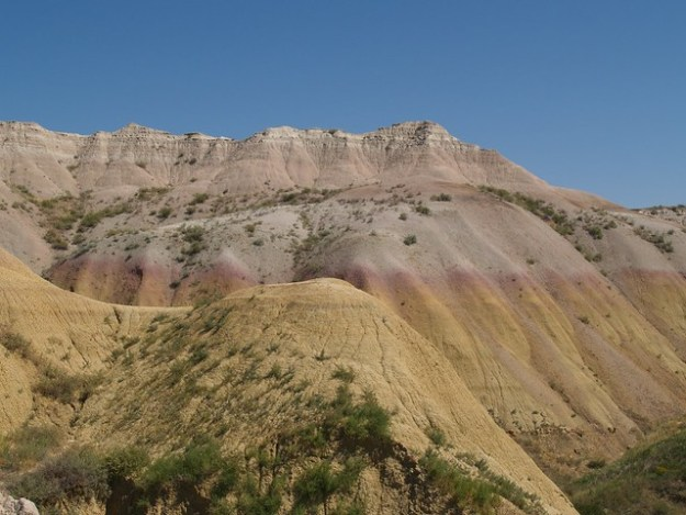 Yellow and Pink Badlands