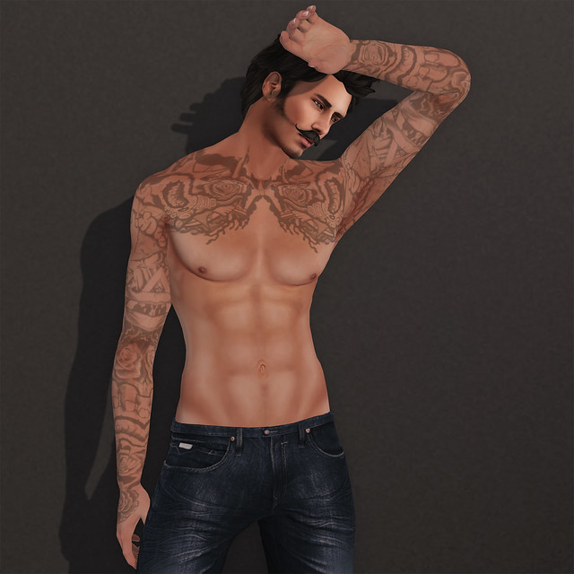 SLink Physique Male Mesh Body (1/3)