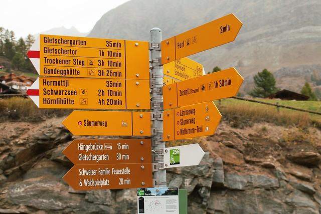 furi trail signs