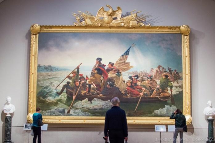 Washington Crossing the Delaware - Leutze