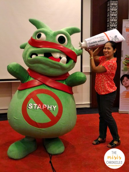 no to staphy fucidin