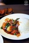Sydney Food Blog Review of Wok On Inn, Zetland: Korean Prawn Stir Fry with Rice