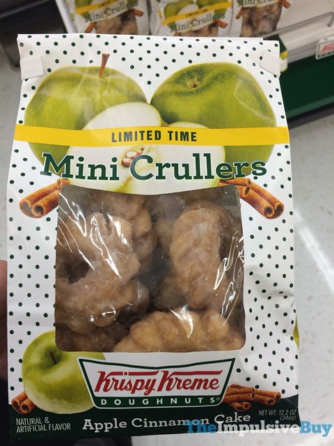 Krispy Kreme Limited Time Apple Cinnamon Cake Mini Crullers
