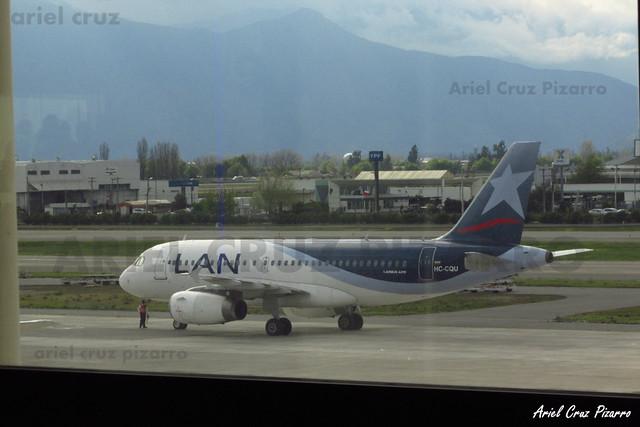 LAN Ecuador - Santiago (SCL) - Airbus A319 HC-CQU