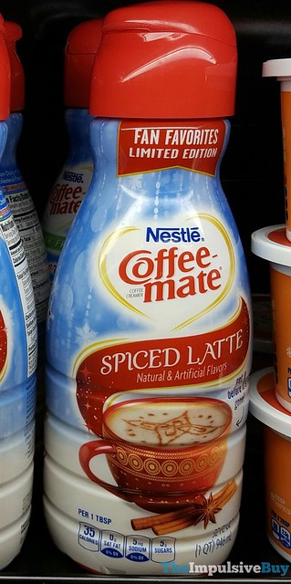 Nestle Fan Favorites Limited Edition Coffee-mate Spiced Latte