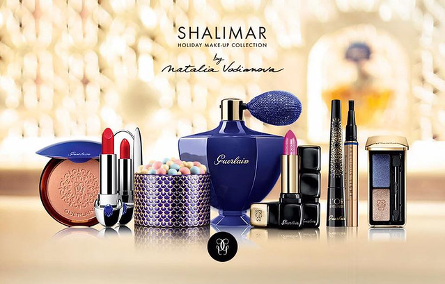 02 Guerlain Shalimar Holiday Make Up Collection by Natalia Vodianova swatches