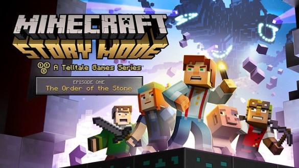 Minecraft Story Mode Ep 1 key art
