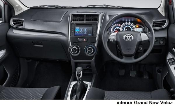 grand new veloz warna hitam toyota avanza 2018 ini perbedaan dan teknologi www memiliki interior dengan nuansa beige lebih cerah sedangkan tampil yang