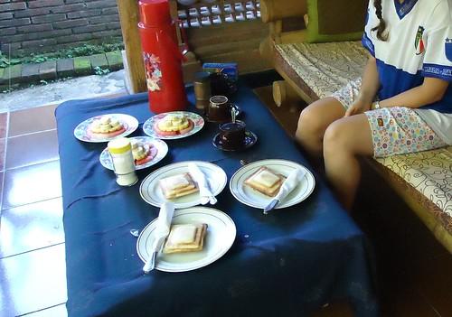 Desayuno en Bali