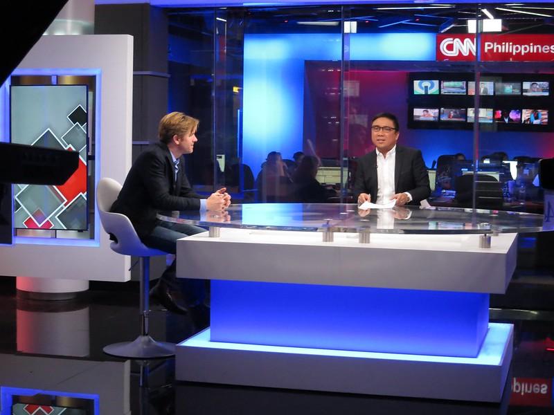 Ivan Watson at CNN Philippines