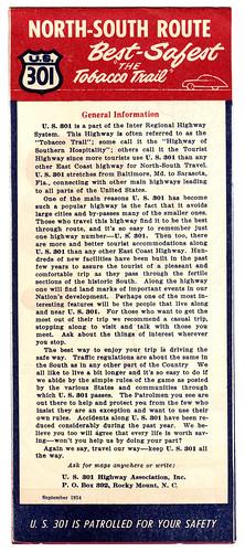 Highway 301 General Information