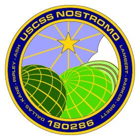 Nostromo Challenge Coin - Reverse