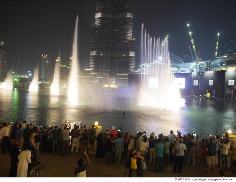 Dubai fountain,哈里發塔,杜拜,杜拜噴泉,杜拜購物中心,水族館,購物中心 @薇樂莉 Love Viaggio | 旅行.生活.攝影