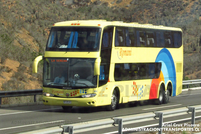 Romani - Norte Chico - Marcopolo Paradiso 1800 DD / Scania (CFVY41) (818)