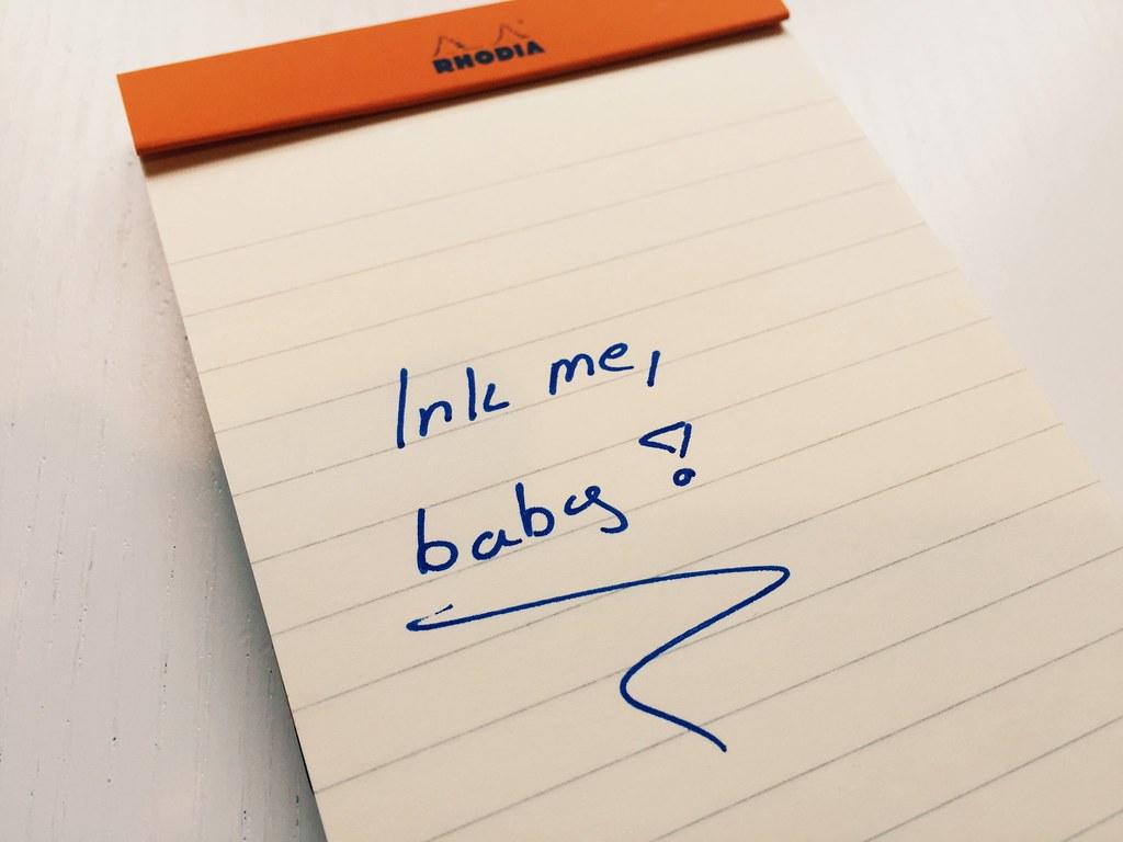 Inky me, baby!