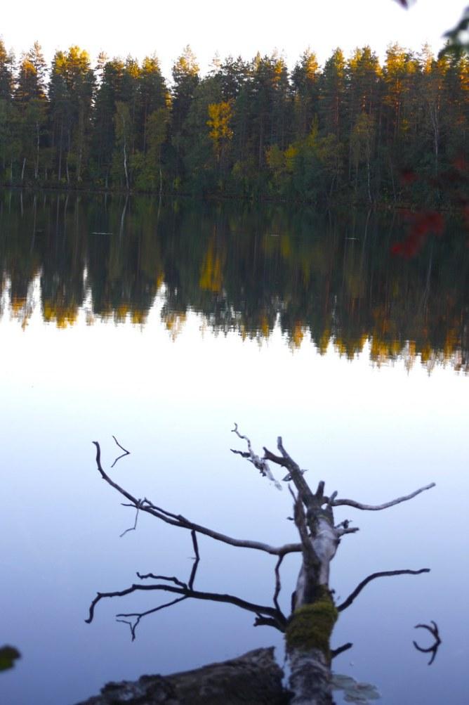 Iso-Melkutin Loppi kirkasvetinen järvi