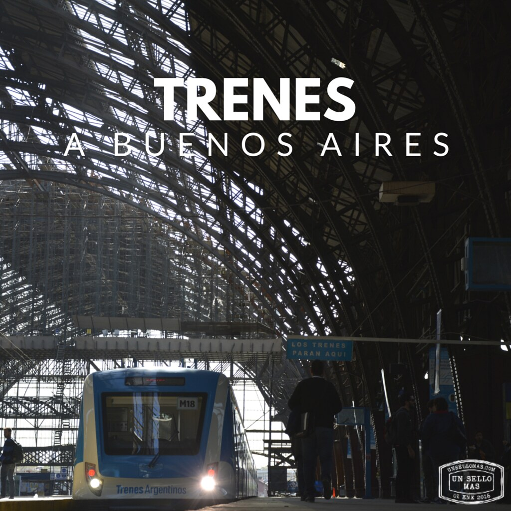 Trenes a buenos aires - buenos aires transporte publico