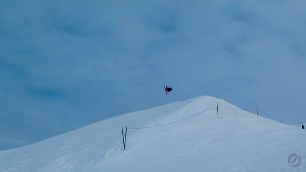 Jumping Skier, Cardrona, Queenstown