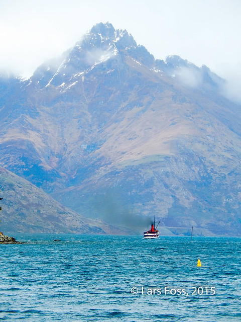 TSS Earnslaw on Lake Wakatipu