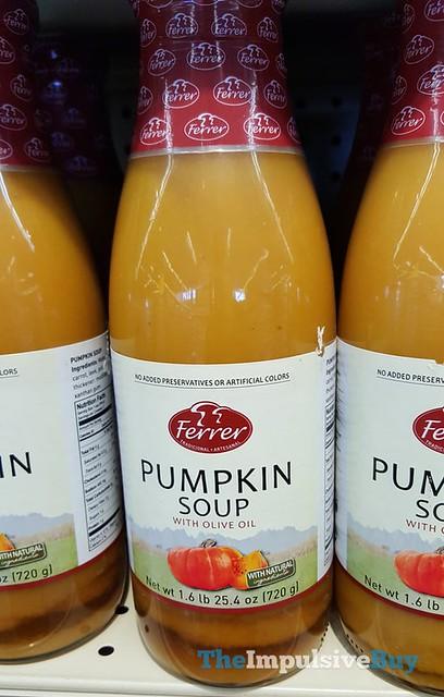 Ferer Pumpkin Soup with Olive Oil