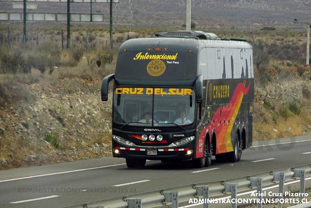 Cruz del Sur (Perú) - Norte Chile - Comil Campione 4.05 HD / Scania (C1A959) (3038)