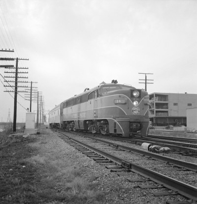 [Texas and New Orleans, Southern Pacific, Diesel Electric Passenger Locomotive No. 211]
