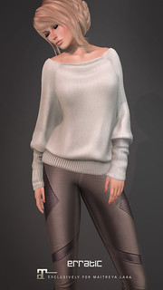 erratic / ava sweater & meg leggings