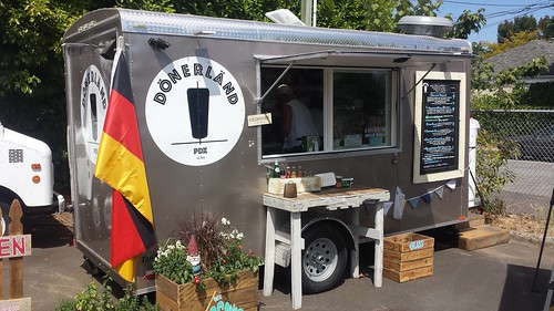 german food cart portland