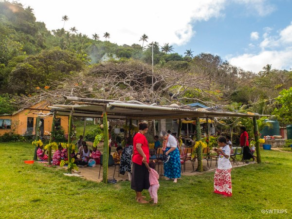 Local Village in Taveuni, Fiji