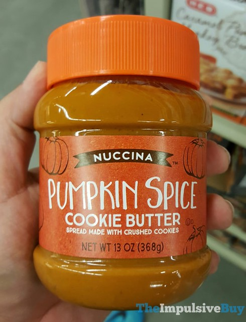 Nuccina Pumpkin Spice Cookie Butter