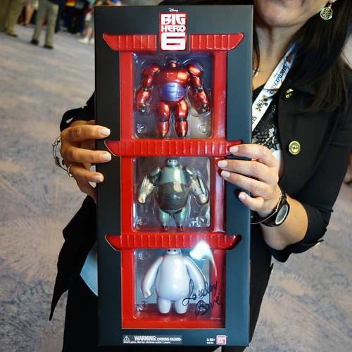 Big Hero 6フィギュア実物。ソーサラーゲスト限定だけど完売するかもと。