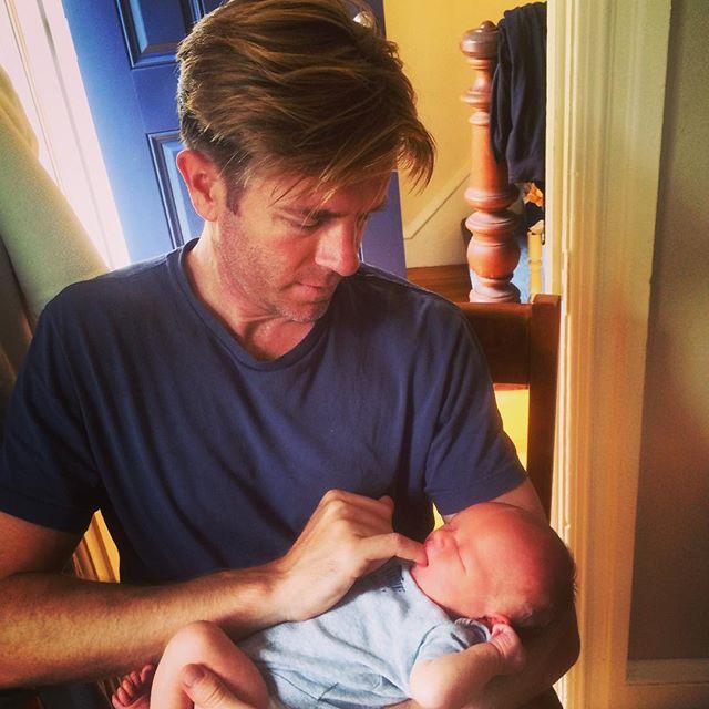 Ivan Watson with nephew